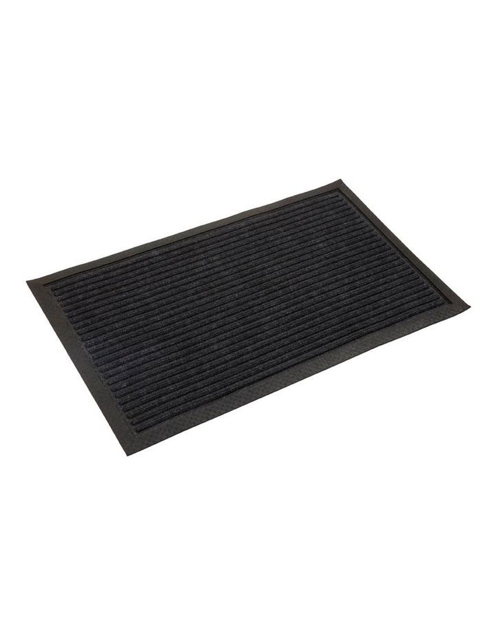Daro Charcoal Polypropylene Doormat 45x75cm image 1