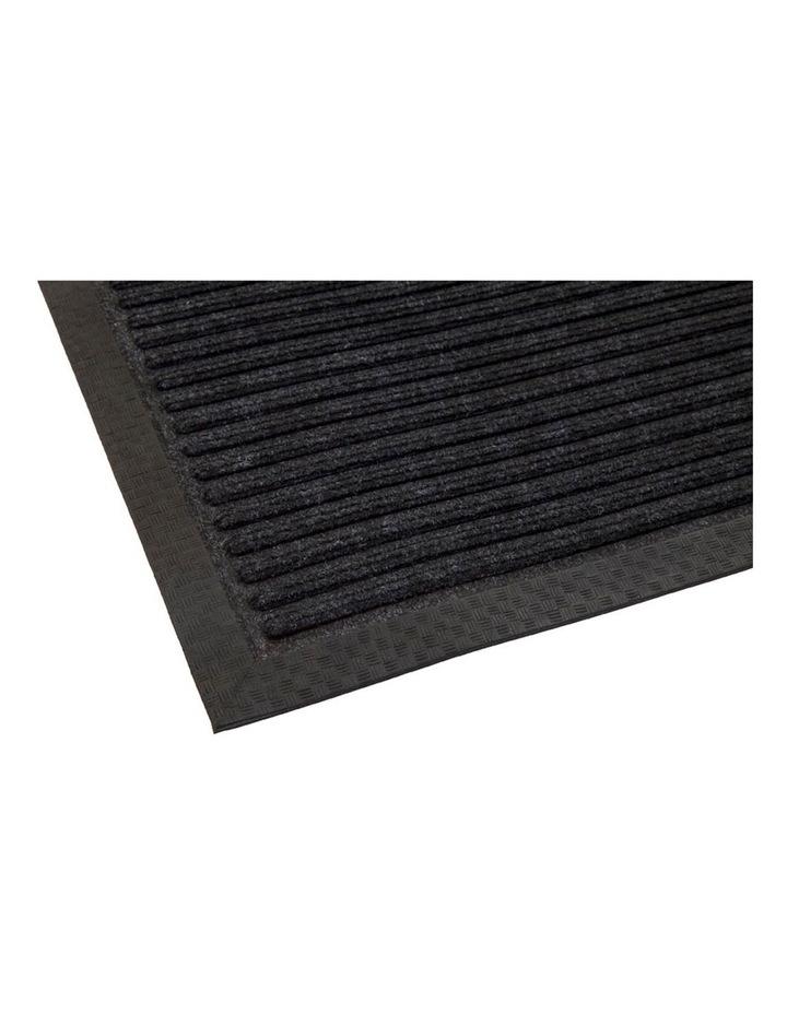 Daro Charcoal Polypropylene Doormat 45x75cm image 2