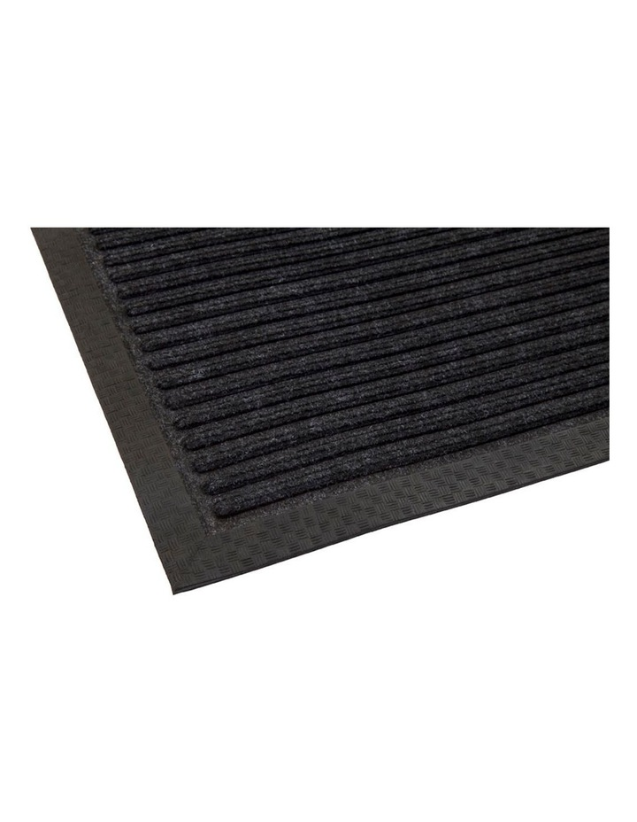 Daro Charcoal Polypropylene Doormat 60x90cm image 2