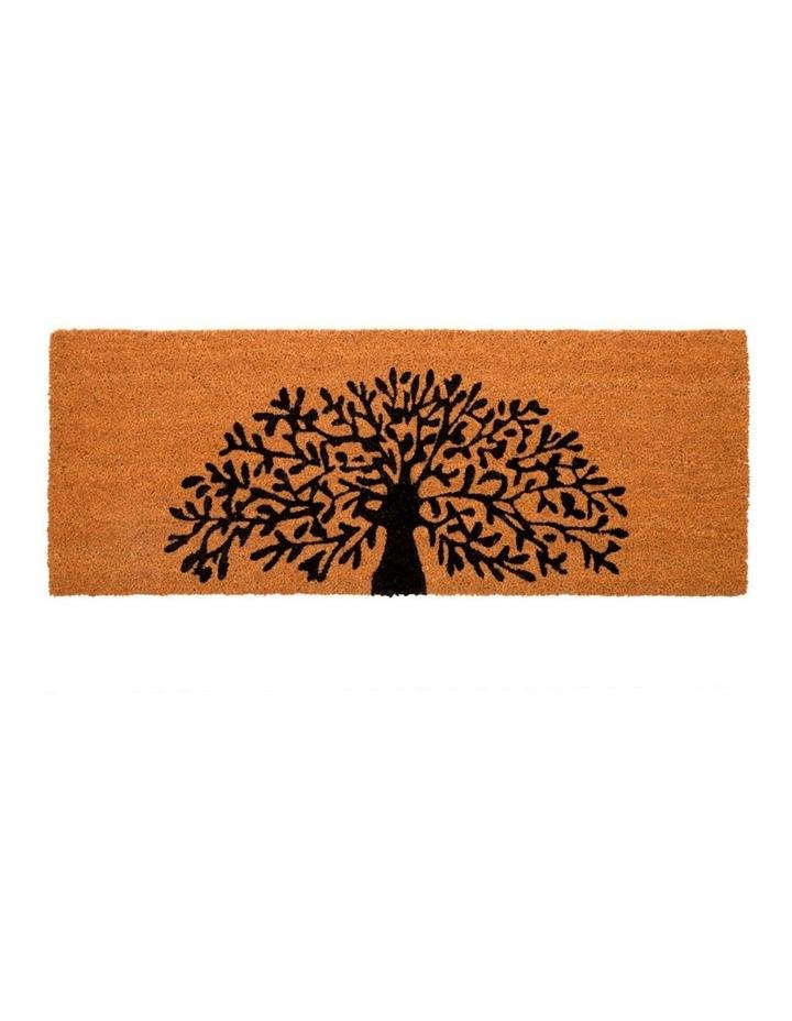 Tree Of Life PVC Backed Coir Doormat 60x90 cm image 1