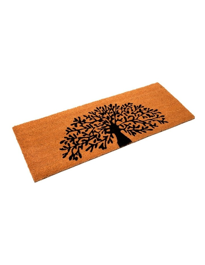 Tree Of Life PVC Backed Coir Doormat 60x90 cm image 2