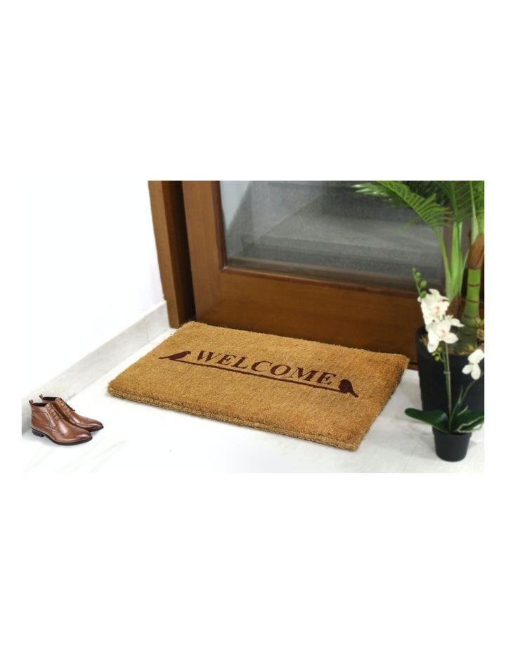 Welcome Coir Doormat 45x75 cm image 2