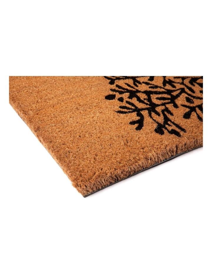 Tree Of Life PVC Backed Coir Doormat 45x75 cm image 3