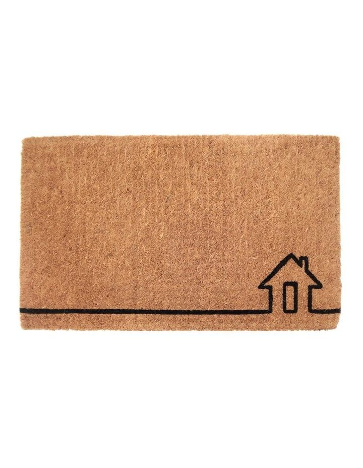 45x75cm Ghar Natural 100% Coir Doormat image 1