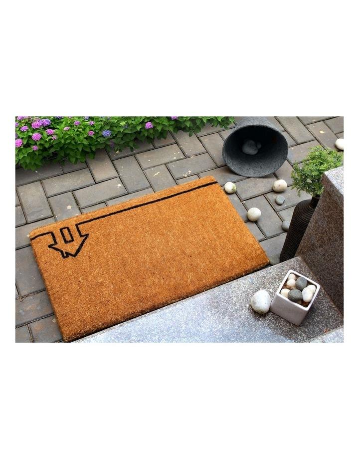 45x75cm Ghar Natural 100% Coir Doormat image 3