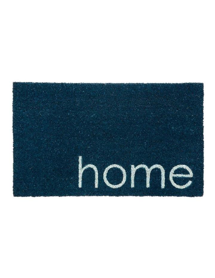 Blue Home PVC Backed Coir Doormat 45x75 cm image 1
