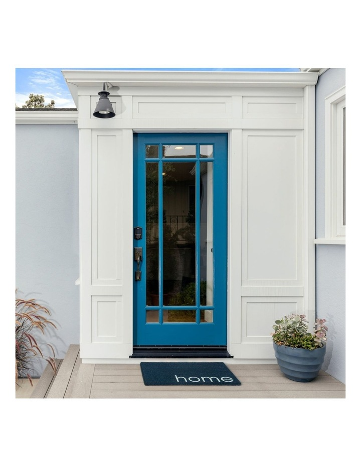 Blue Home PVC Backed Coir Doormat 45x75 cm image 3