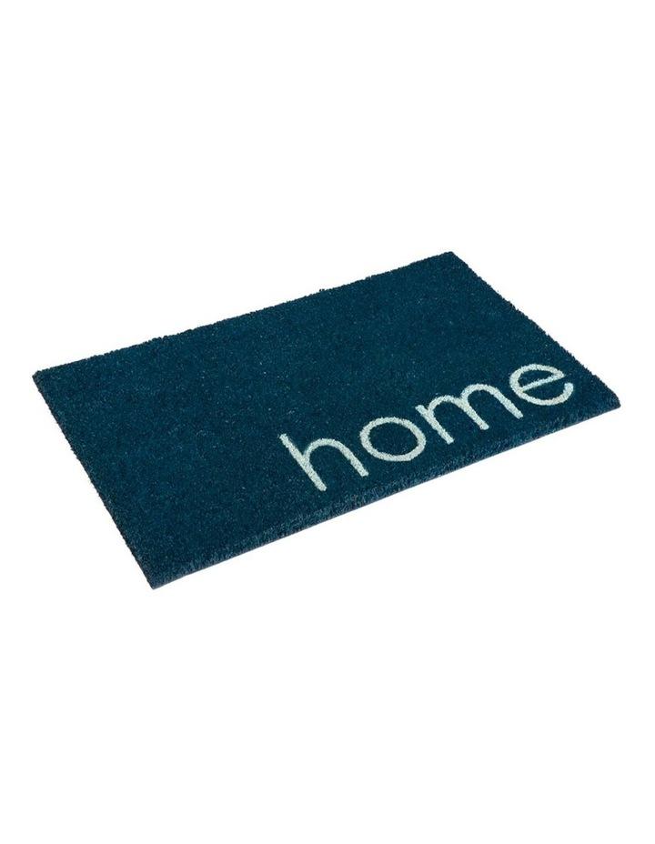 Blue Home PVC Backed Coir Doormat 60x90 cm image 1
