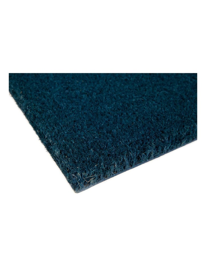 Blue Home PVC Backed Coir Doormat 60x90 cm image 2