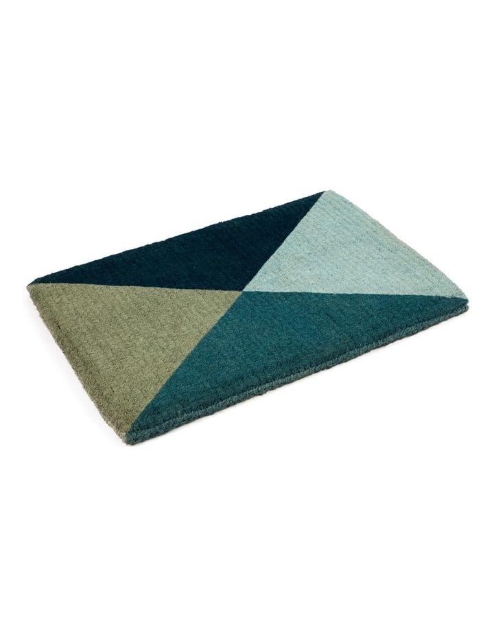 Blue Flag Coir Doormat 45x75 cm image 1