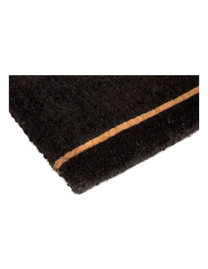 45x75 cm Ghar Black Coir Doormat image 2