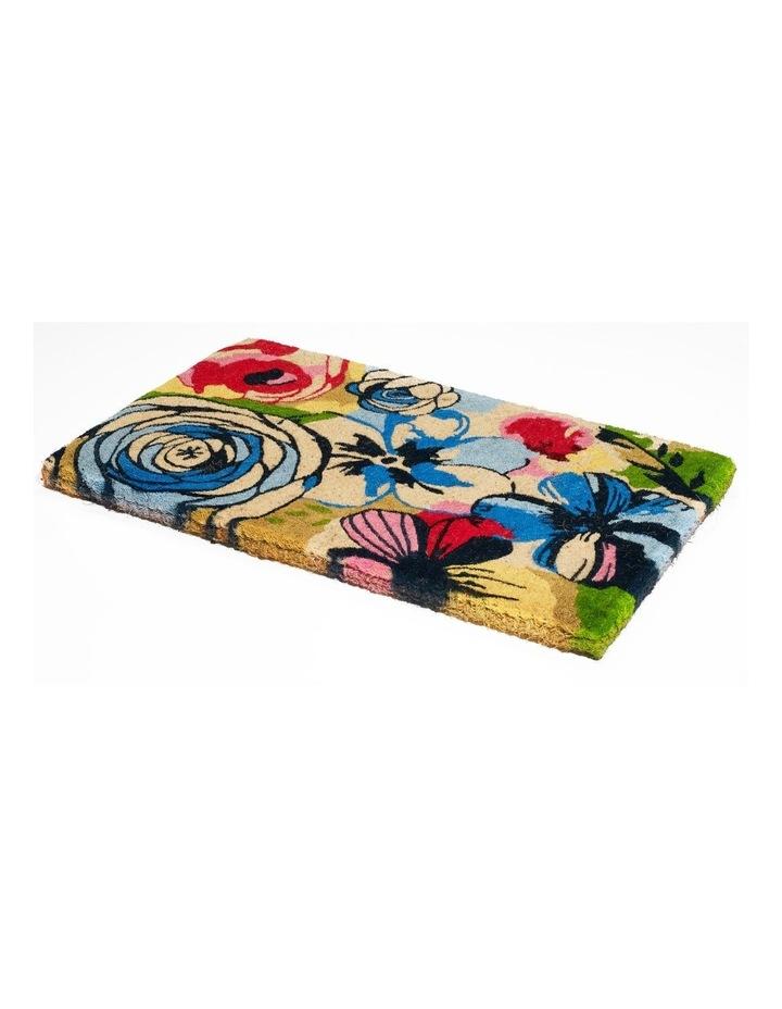 Watercolour Coir Doormat 45x75 cm image 1