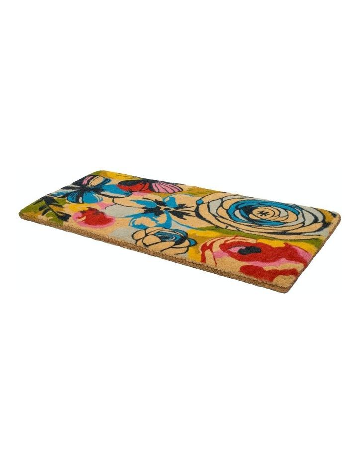 Watercolour Coir Doormat 45x75 cm image 3