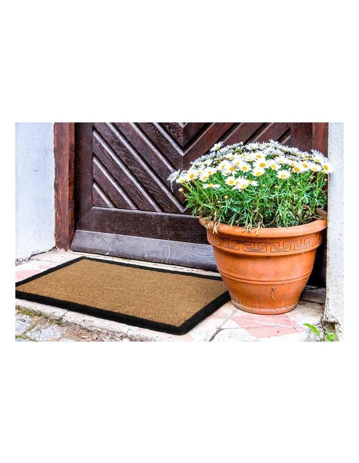 Four Corners Coir Doormat 45x75 cm image 1