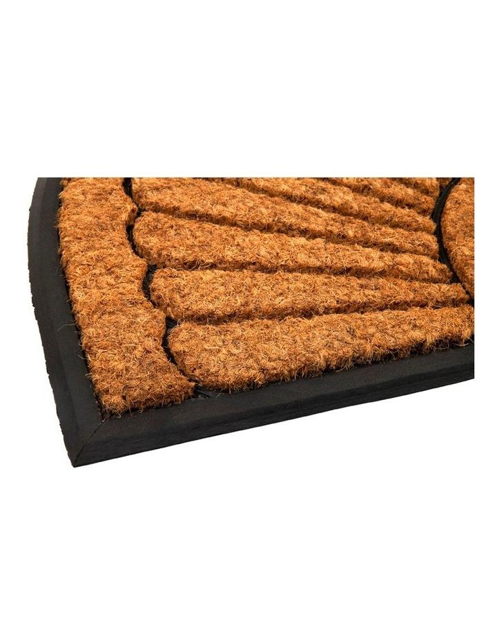 60x90 cm Kochi Half Round Rubber and Coir Doormat image 2
