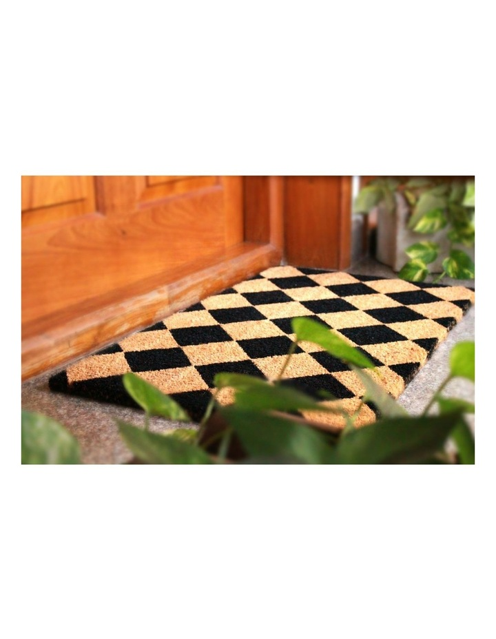 Diamond PVC Backed Coir Doormat 45x120 cm image 3
