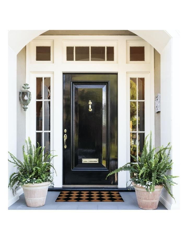 Diamond PVC Backed Coir Doormat 45x75 cm image 7