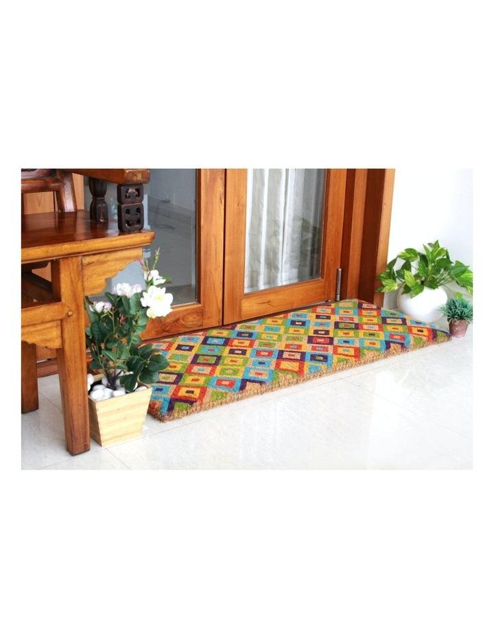 Saman Multicolor Coir Doormat 45x120 cm image 2
