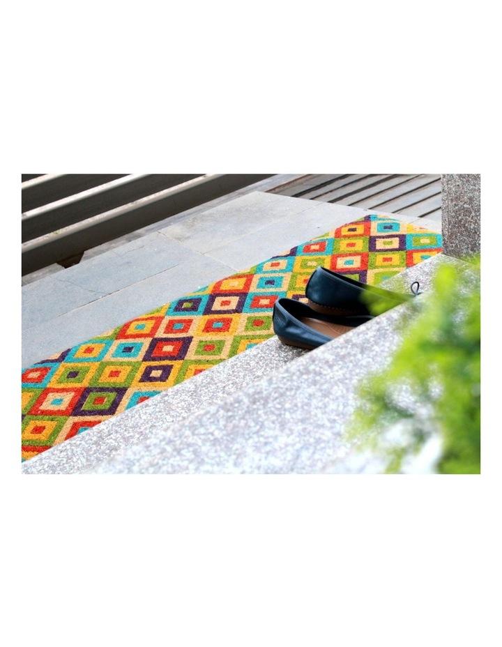 Saman Multicolor Coir Doormat 45x120 cm image 3