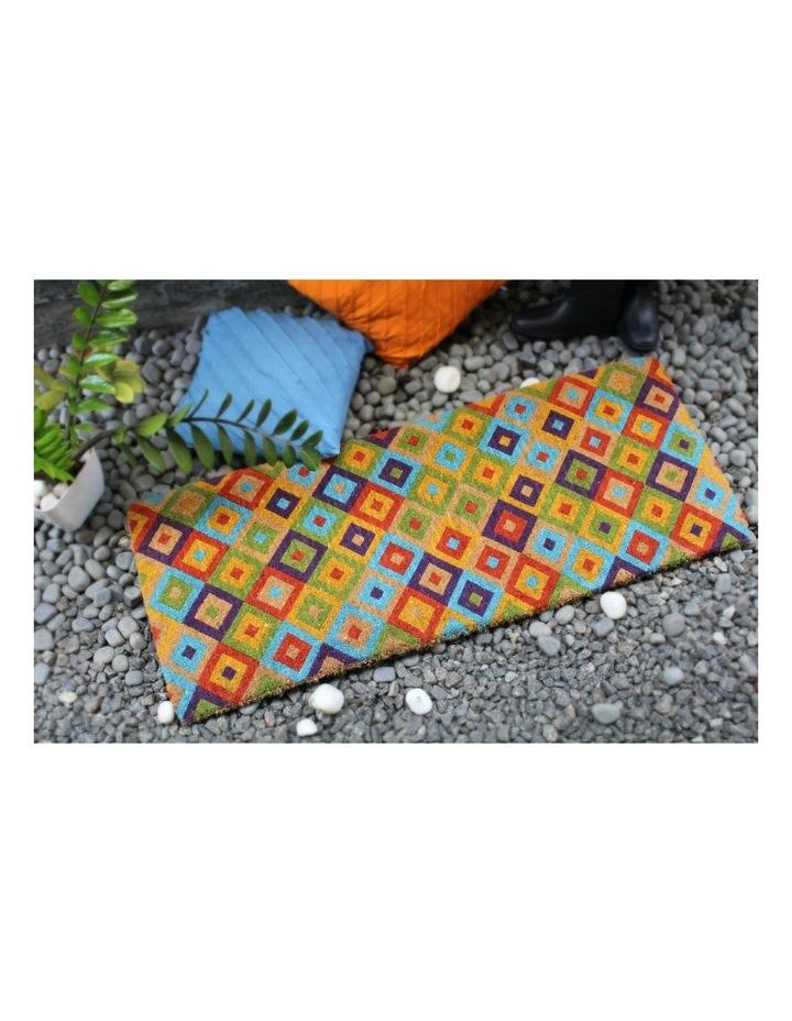 Saman Multicolor Coir Doormat 45x120 cm image 6
