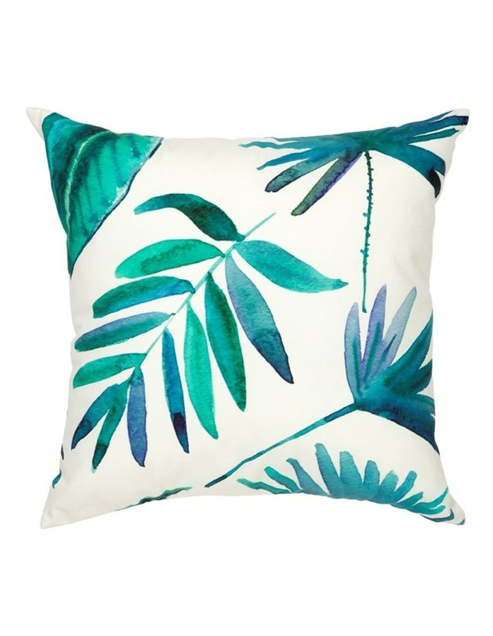 Botanica Blue Outdoor Cushion with Insert 45x45 CM image 1
