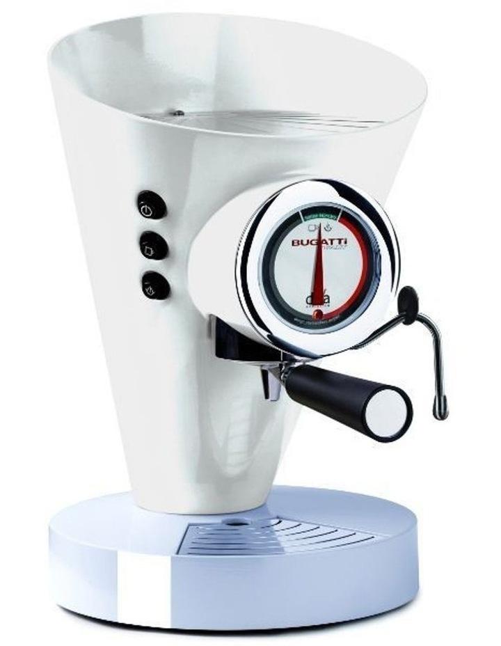 E-Diva Coffee Machine White image 1