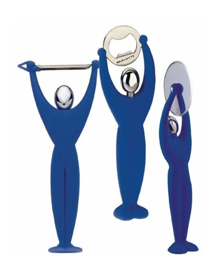 3 Piece Gym Set Blue image 1