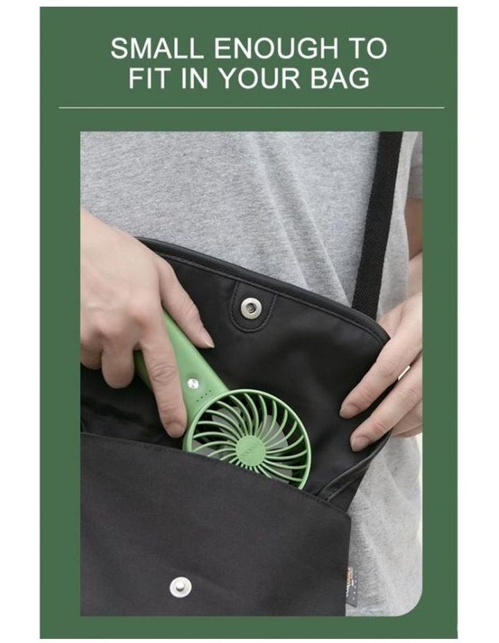 Green Mini Fan & Power Bank image 2