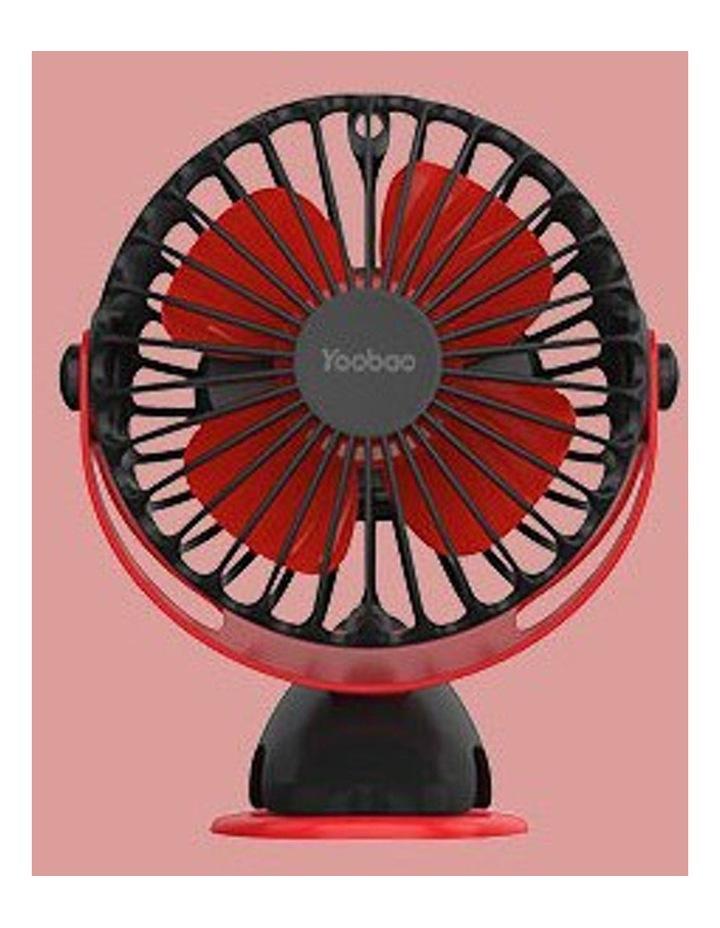 Black Noiseless Mini Clip Fan image 1