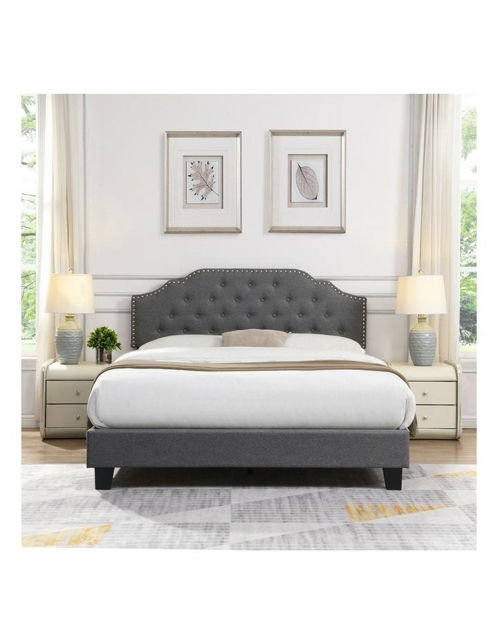 BEF02 Double Size Bed Frame Base Mattress Platform Grey image 3