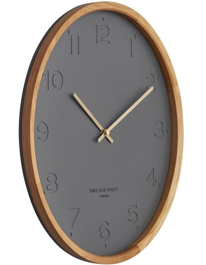 Freya Charcoal 35Cm Silent Wall Clock image 2