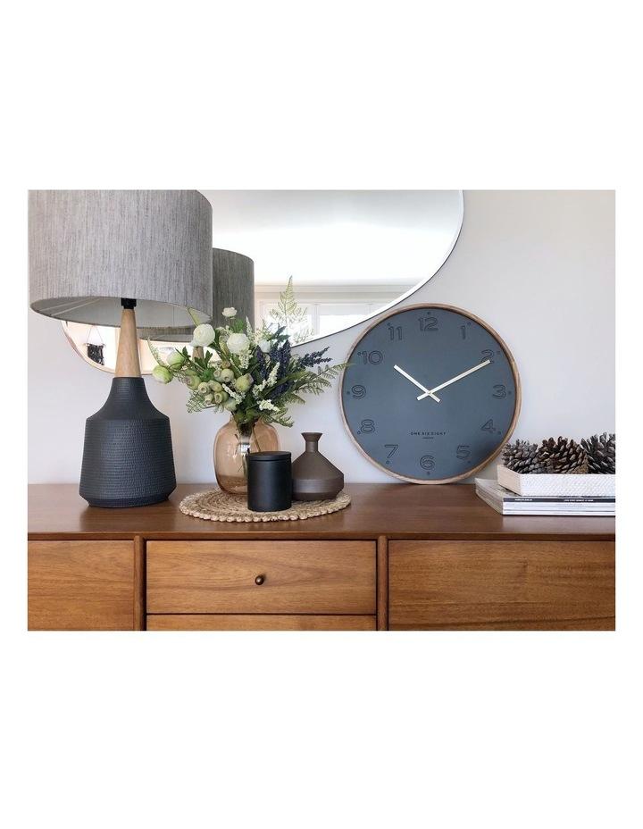Freya Charcoal 35Cm Silent Wall Clock image 4