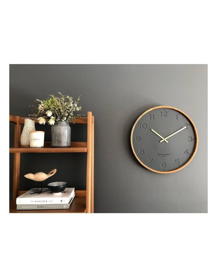 Freya Charcoal 35Cm Silent Wall Clock image 5