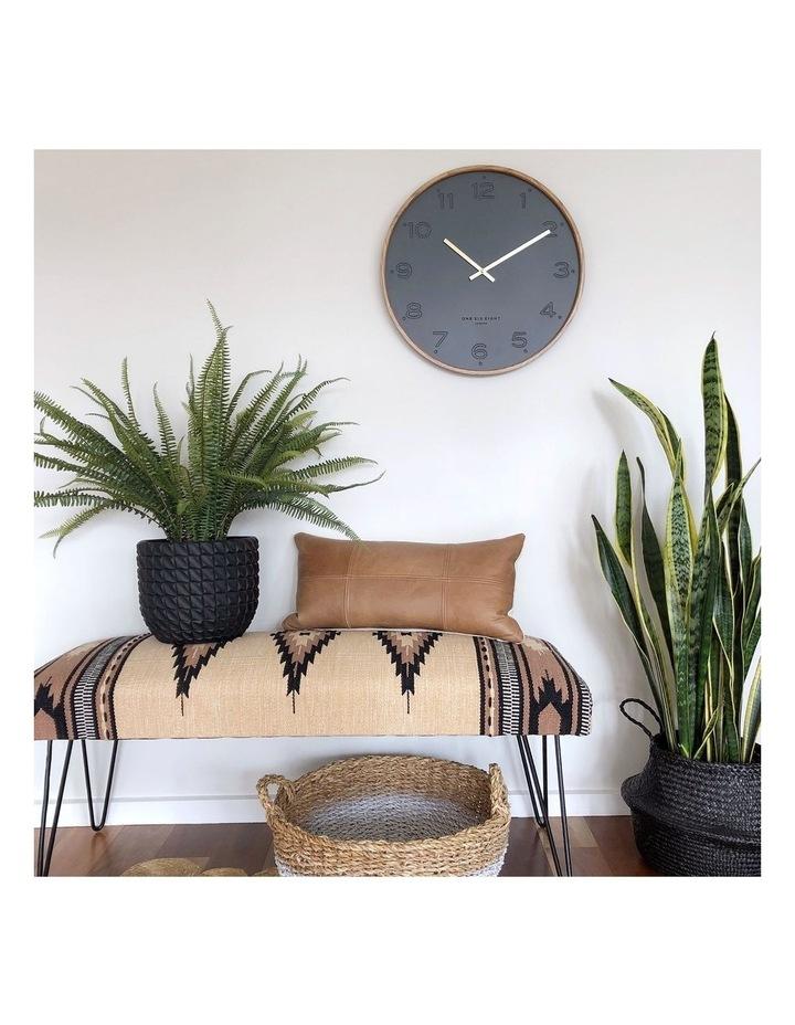 Freya Charcoal 35Cm Silent Wall Clock image 6