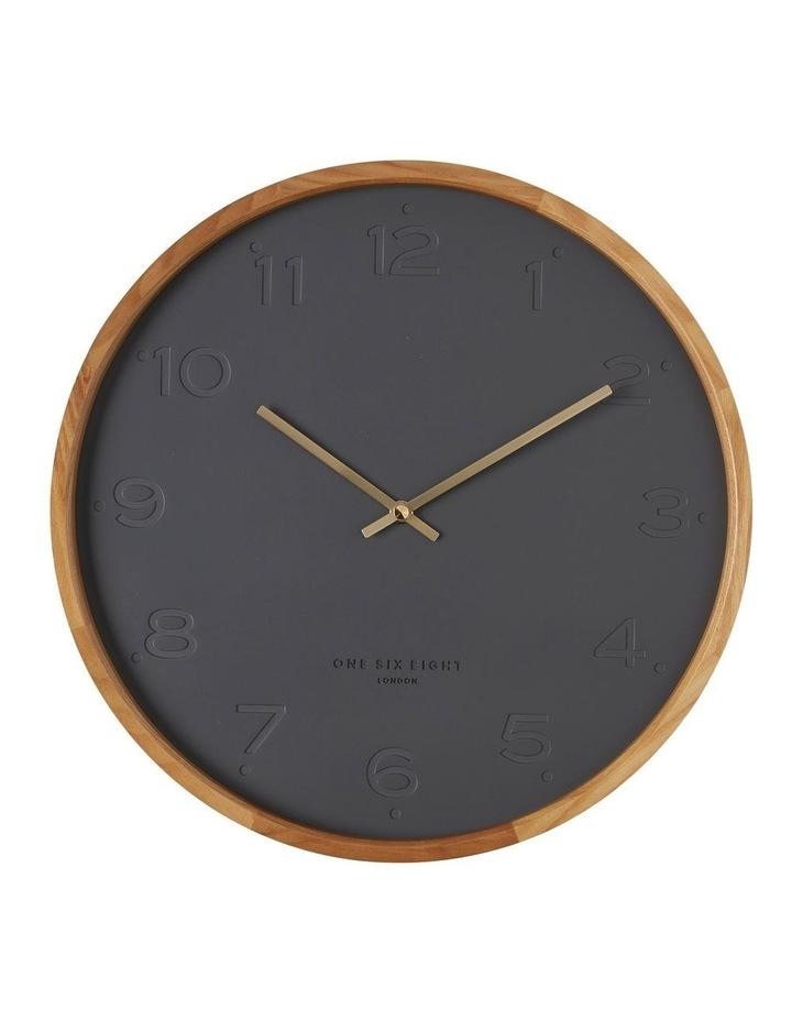 Freya Charcoal 50Cm Wall Clock image 1