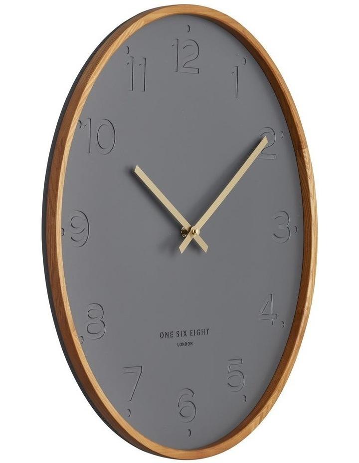 Freya Charcoal 50Cm Wall Clock image 2