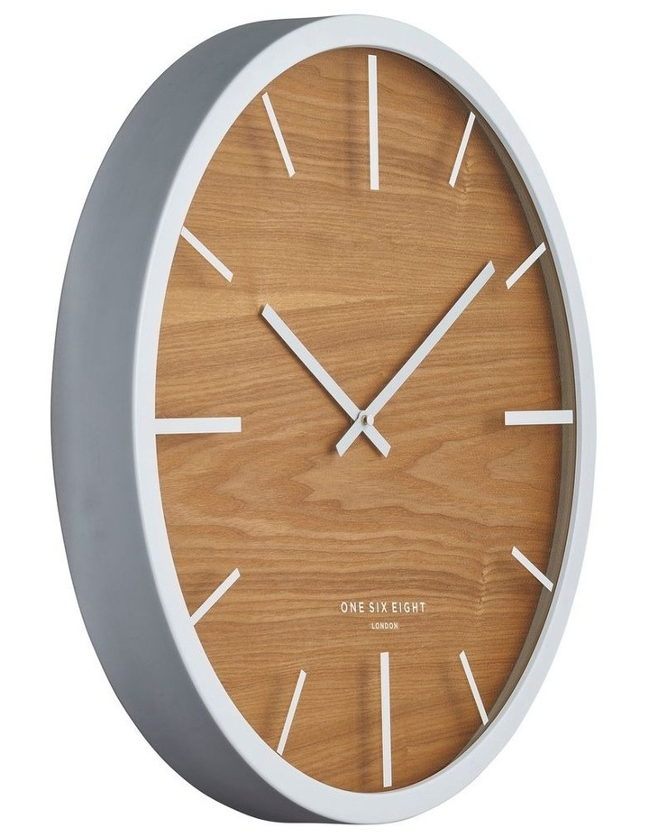 Willow White 30Cm Silent Wall Clock image 2