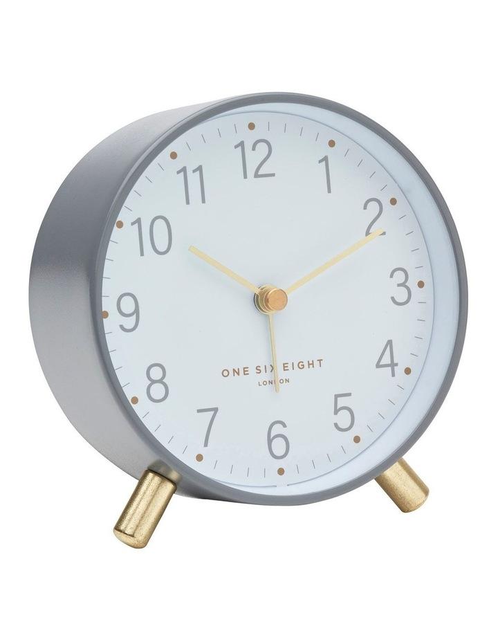 Maisie Grey Silent Alarm Clock image 1