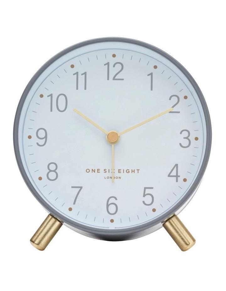 Maisie Grey Silent Alarm Clock image 2
