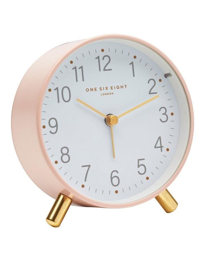 Maisie Blush Silent Alarm Clock image 1