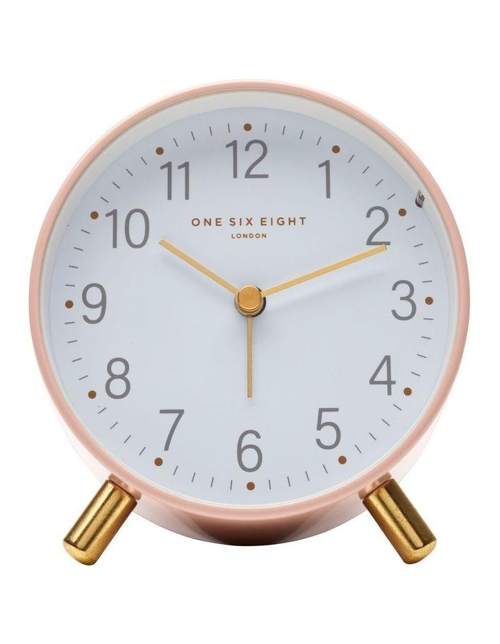 Maisie Blush Silent Alarm Clock image 2