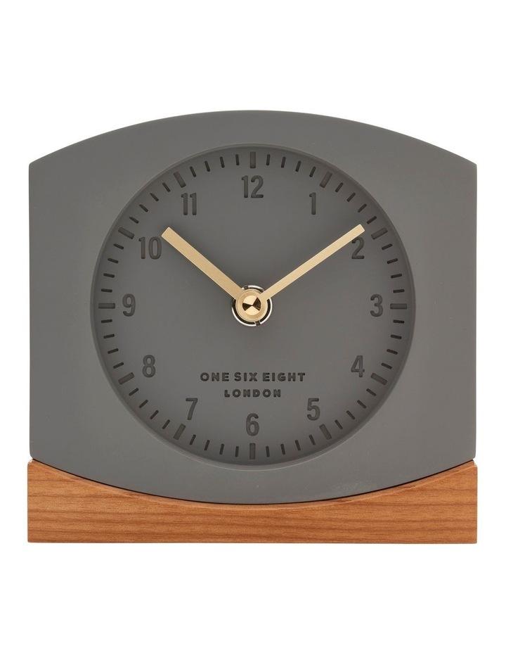 Charlotte Grey Silent Mantel Clock image 1