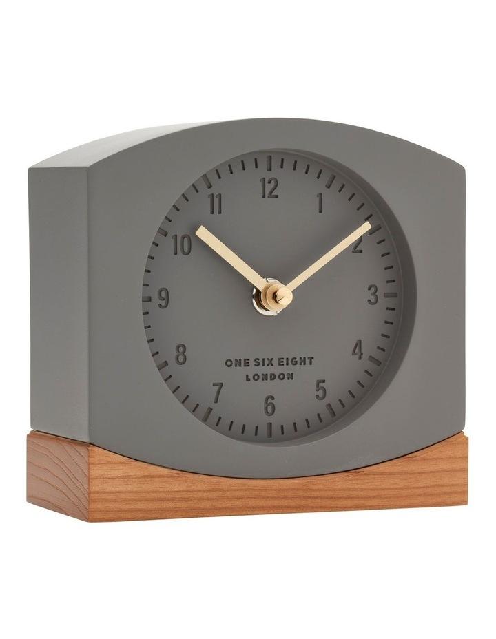 Charlotte Grey Silent Mantel Clock image 2