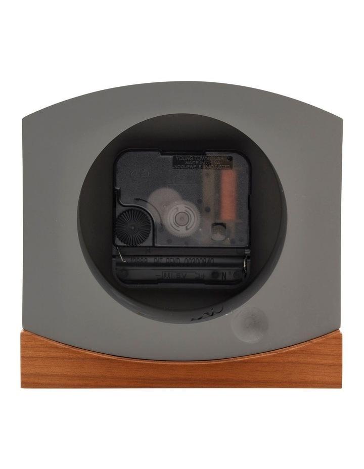 Charlotte Grey Silent Mantel Clock image 4