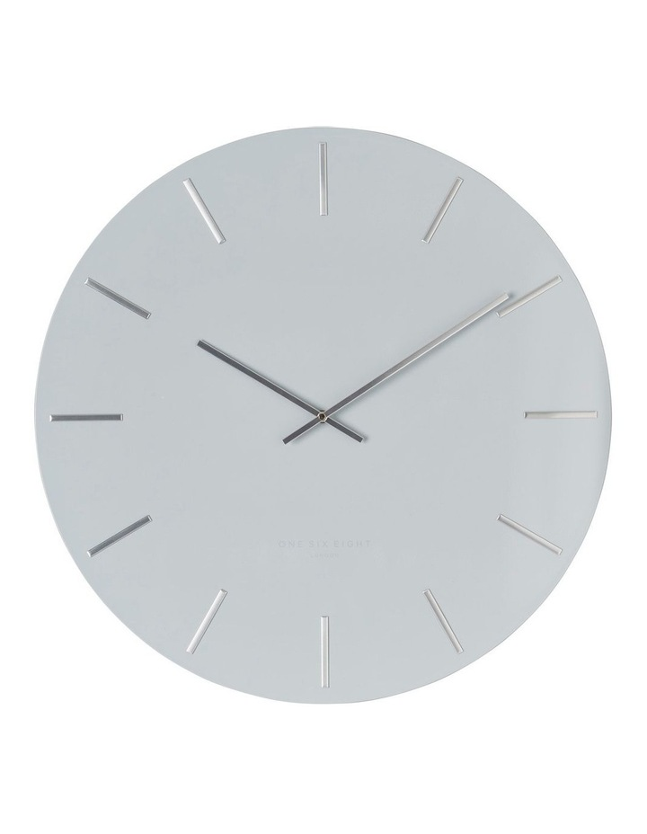Luca Light Grey 40Cm Silent Wall Clock image 1