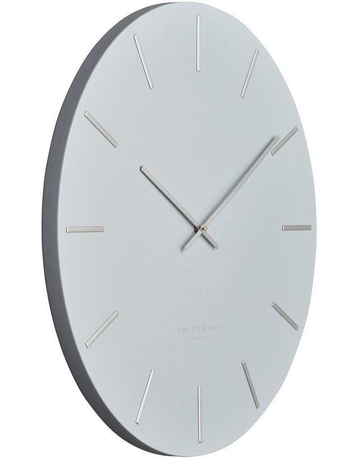 Luca Light Grey 40Cm Silent Wall Clock image 2