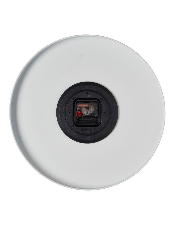 Luca Light Grey 40Cm Silent Wall Clock image 3