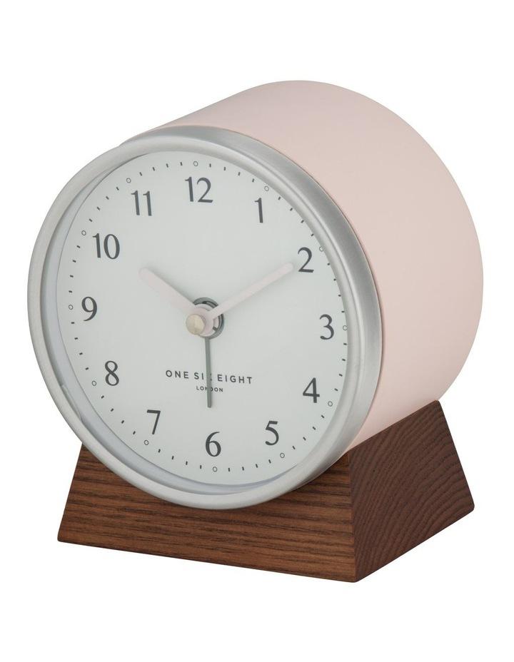 Nina Blush Silent Alarm Clock image 1