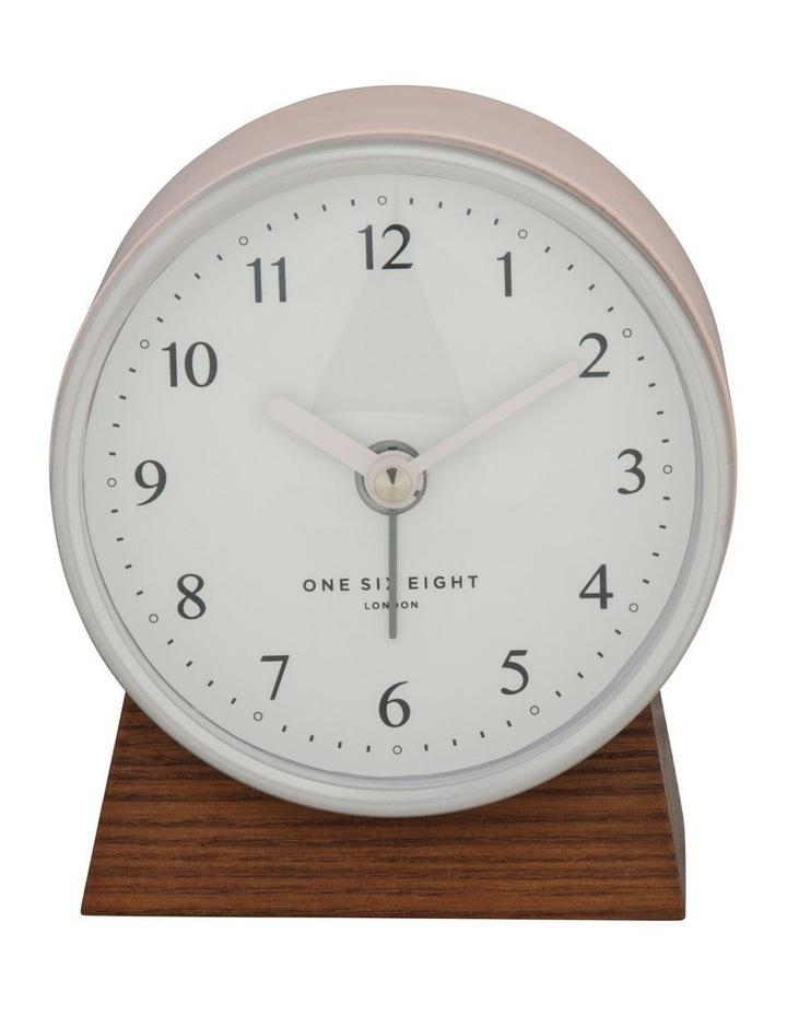 Nina Blush Silent Alarm Clock image 2