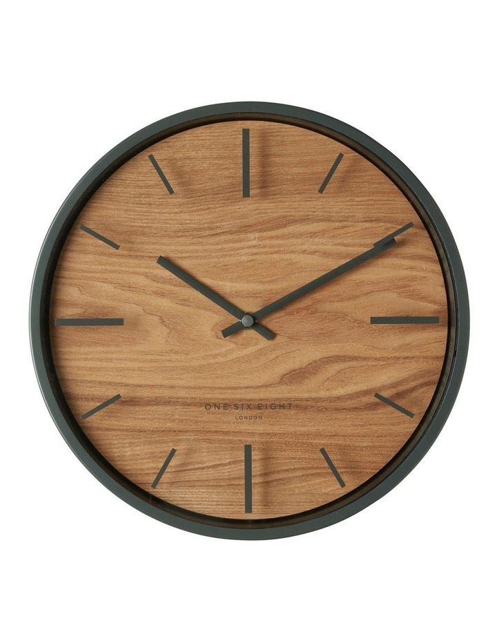 Willow Charcoal 30Cm Silent Wall Clock image 1